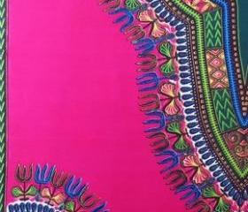 Worldwide Free Shipping - Kilimanjaro Dashiki fabric